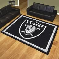 Oakland Raiders 8' x 10' Area Rug