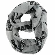 Oakland Raiders Alternate Sheer Infinity Scarf