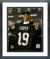 Oakland Raiders Amari Cooper 2015 Press Conference Framed Photo