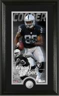 Oakland Raiders Amari Cooper Supreme Minted Coin Panoramic Photo Mint