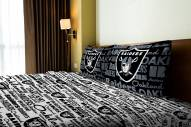 Oakland Raiders Anthem Full Bed Sheets