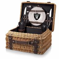 Oakland Raiders Black Champion Picnic Basket