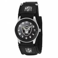Oakland Raiders Black Rookie Kids Watch