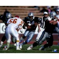 "Oakland Raiders Bo Jackson Rushing Against Chiefs Signed 16"" x 20"" Photo"
