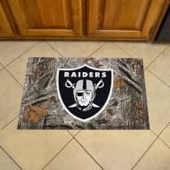 Oakland Raiders Camo Scraper Door Mat