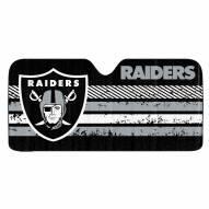 Oakland Raiders Car Sun Shade