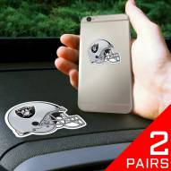 Oakland Raiders Cell Phone Grips - 2 Pack