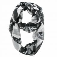 Oakland Raiders Chevron Sheer Infinity Scarf