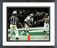 Oakland Raiders Cliff Branch Super Bowl XV 1981 Action Framed Photo
