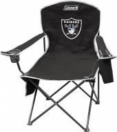 Oakland Raiders Coleman XL Cooler Quad Chair
