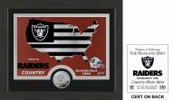 Oakland Raiders Country Minted Coin Photo Mint