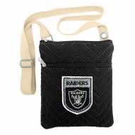 Oakland Raiders Crest Chevron Crossbody Bag