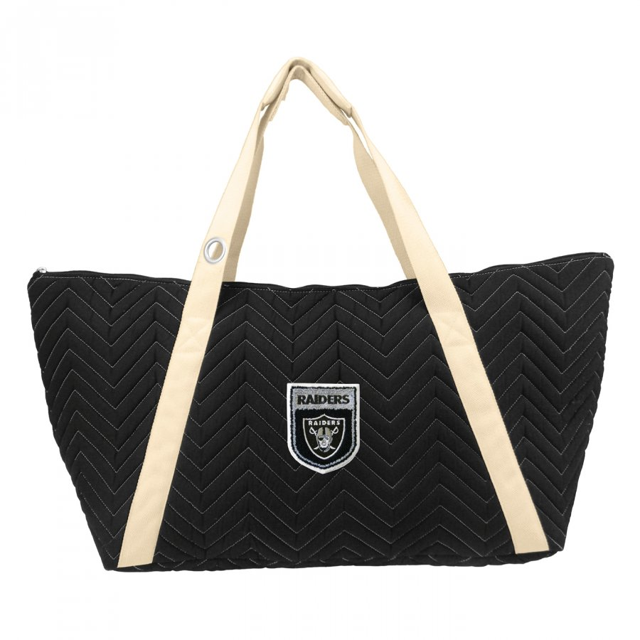 Oakland Raiders Crest Chevron Weekender Bag