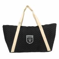 Oakland Raiders Crest Chevron Weekender Bag