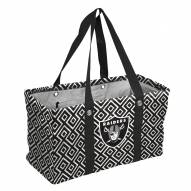 Oakland Raiders Double Diamond Picnic Caddy