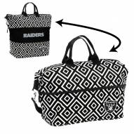 Oakland Raiders Expandable Tote Bag