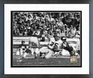 Oakland Raiders Fred Biletnikoff Action Framed Photo