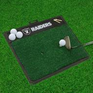 Oakland Raiders Golf Hitting Mat