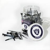 Oakland Raiders 175 Golf Tee Jar