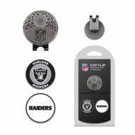 Oakland Raiders Hat Clip & Marker Set