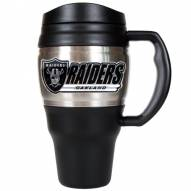 Oakland Raiders Heavy Duty Travel Mug