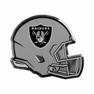 Oakland Raiders Helmet Car Emblem