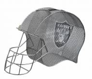 Oakland Raiders Helmet Cork and Bottle Holder