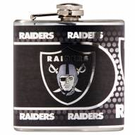 Oakland Raiders Hi-Def Stainless Steel Flask