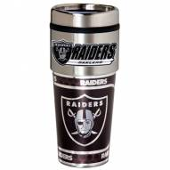 Oakland Raiders Hi-Def Travel Tumbler