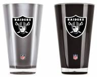 Oakland Raiders Home & Away Tumbler Set