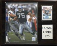 "Oakland Raiders Howie Long 12 x 15"" Player Plaque"