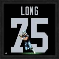 Oakland Raiders Howie Long Uniframe Framed Jersey Photo