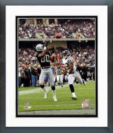 Oakland Raiders Jerry Rice 2001 Action Framed Photo