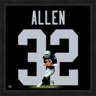 Oakland Raiders Marcus Allen Uniframe Framed Jersey Photo