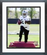 Oakland Raiders Maurice Jones-Drew 2014 Mini Camp Action Framed Photo