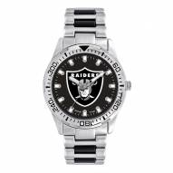 Oakland Raiders Men's Heavy Hitter Watch