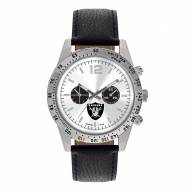 Oakland Raiders Men's Letterman Watch