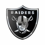 Oakland Raiders Metal Car Emblem