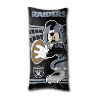 Oakland Raiders Mickey Mouse Body Pillow