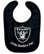 Oakland Raiders NFL All Pro Little Fan Baby Bib