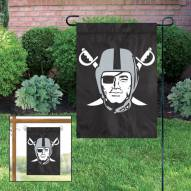 Oakland Raiders NFL Garden Flag