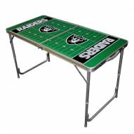 Oakland Raiders NFL Outdoor Folding Table