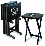Oakland Raiders NFL TV Trays - Set of 4