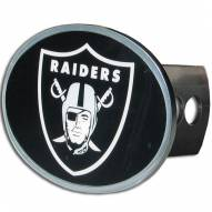 Oakland Raiders Oval Hitch Cover