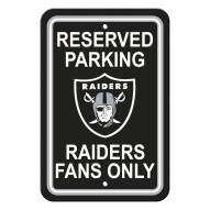 Oakland Raiders Parking Sign - Set of 2