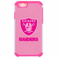 Oakland Raiders Pink Pebble Grain iPhone 6/6s Case