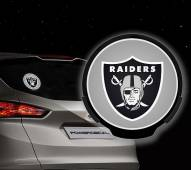 Oakland Raiders Light Up Power Decal