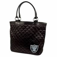 Oakland Raiders Quilted Tote Bag