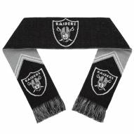 Oakland Raiders Reversible Stripe Scarf
