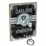 Oakland Raiders Ring Toss Game